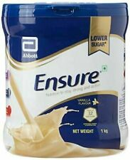 Abbott Ensure Vanilla Nutrition Powder 1 kg pack//Long expiry//100% Herbal