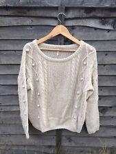 Sweewe Paris Jumper Size M/L Vintage Style/Cable Knit
