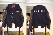 Heroes NBC LeatherCrew Jacket - New Very Rare + 4 Heroes Screeners & Bio Papers