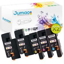 10 Toners d'impression type Jumao compatibles pour Dell Color Printer 1350cnw