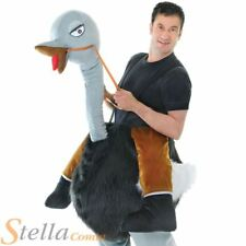 Step In Emu Ostrich Costume Adult Unisex Animal Wild West Fancy Dress Outfit