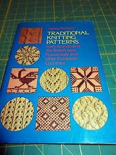 KNITTING BOOK: TRADITIONAL KNITTING PATTERNS FROM EUROPEAN COUNTRIES, DOVER PRES