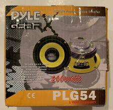 Pyle Gear X Pro 5'' 200 Watt 40HM Mid Bass Woofer/speaker PLG54