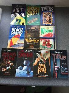 10 X Retro Point Horror Books