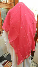 Pink, Gold & Silver Evening Shawl / Stole - BNWT