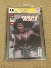 """Wonder Woman 51 CGC 9.8 White Pages- Autod Stanley """"Artgerm"""" Lau (Variant Cover)"""