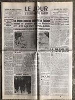 N17 La Une Du Journal Le Jour 9 Décembre 1941