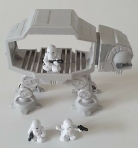 Star Wars Fighter Pods : Hoth Imperial Set (AT-AT Walker plus 3 Snowtroopers)