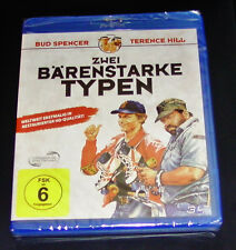 ZWEI STRAPPING TYPE WITH BUD SPENCER AND TERENCE HILL BLU RAY NEW & VINTAGE