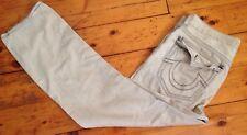 """True Religion Mens Sz. 38 (38""""x31"""") Khaki Pants Flap Back Pockets #38"""