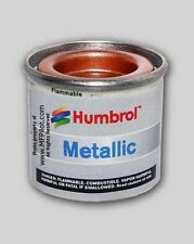 METALLIC COPPER HUMBROL Enamel Model Paint - 14ml Tin #12