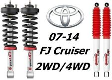 Rancho Quicklift Struts+RS5000 Rear Shocks For 07-14 Toyota FJ Cruiser 2WD/4WD