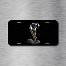 Mustang cobra Vehicle Front License Plate Auto Car NEW gt hatchback coupe
