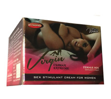 Virgin Climax Extreme 50g Sex Stimulant Cream For Women / Female Sex 100 Herbal