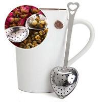 Heart Shape Stainless Steel Tea Infuser Loose Leaf Strainer Filter Herb Steeper