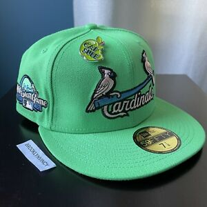 New Era Capsule Apple St. Louis Cardinals 7 1/8 Not Hat Club Myfitteds Olympic