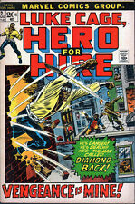 Marvel Luke Cage, Hero for Hire #2  (1972) - No stock images