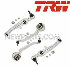 For Audi Front Left & Right Lower & Upper Control Arms+Ball Joint Kit TRW OEM