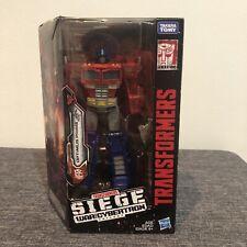 Transformers siege Optimus Prime NIB