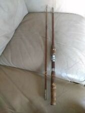 Vintage Shakespeare Muskie Special #1276  Fishing pole Hex 6 Sided (5 1/2')