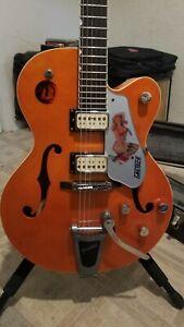 2008 Gretsch G5120 Orange Electromatic125th anniversary Electric guitar