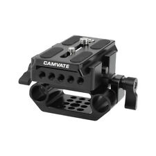CAMVATE Standard Manfrotto Quick Release Baseplate W/15mm Rod Clamp Base