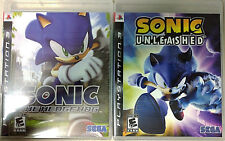 Sonic the Hedgehog & Sonic Unleashed (Sony PlayStation 3, 2007-08)