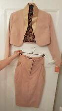 Dolce and Gabbana ladies 2 piece nude suit. Size 8. Brand new with tags