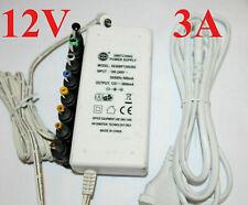 Notebook Ladegerät Universal Netzteil 12V 3A  8x Adapter Sony Toshiba Acer Mega