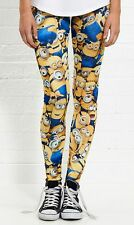 DESPICABLE ME MINIONS ALL OVER LADIES LEG PANTS COSTUME Authentic *NEW* SALE!