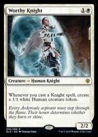MTG x4 Worthy Knight Throne of Eldraine RARE NM/M Magic the Gathering