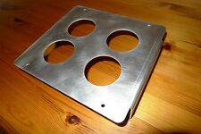 Land Rover Series 2 S2a Auxiliary Instrument / Aux Gauge Panel 4 Holes 52mm