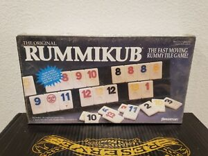 Vintage THE ORIGINAL RUMMIKUB No. 400 Game Pressman 1990 Rummy NEW and SEALED