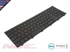 NEW Dell Inspiron 15-5558/5559/5566/5577 US ENGLISH Backlit RED Keyboard 0V9F14
