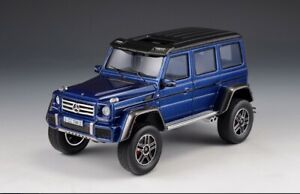 1/43 scale MERCEDES-BENZ G550 4x4² W463 2015 Blue GLM205704 Limited 123 of 199