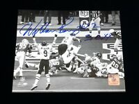 William Perry The Fridge Chicago Bears Signed Autographed 8x10 B&W Photo JSA COA