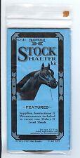 Breyer Horse Rio Rondo Stock Halter Kit BLACK leather traditional scale