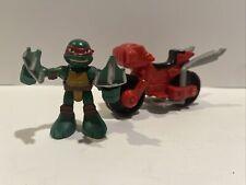 Half Shell Heroes RAPH & MINIBIKE TMNT Ninja Turtles 2014 Playmates