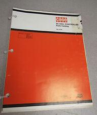 Case SC Soil Controller Parts Catalog Manual A1378 1980
