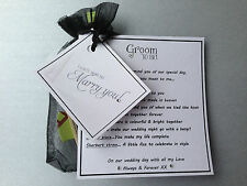 Groom to Be Present.gift From Bride on Wedding Morning Romantic Fun Survival Kit