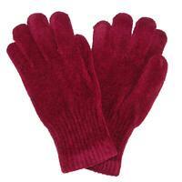New CTM Women's Chenille Winter Gloves