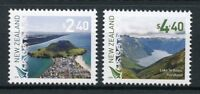 New Zealand NZ 2018 MNH Scenic Definitives 2v Set Lakes Mountains Tourism Stamps