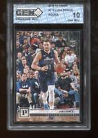 Luka Doncic RC 2018-19 Panini Chronicles #111 Rookie GEM MINT 10
