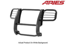 02-04 Jeep Liberty Black Semi-Gloss Steel Front Grille/Brush Guard Aries