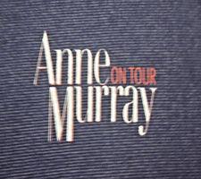 ANNE MURRAY lrg T shirt tour Canadian pop concert tee 1980s A Little Good News