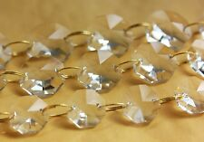 3FT Crystal Chandelier Prisms Glass 14MM Octagon Chain Wedding Garland part BR14