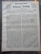 1884 Ernst Raupach Theater Schriftsteller aus Straupitz bei Liegnitz