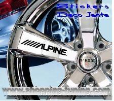 8 STICKER AUTOCOLLANT LOGO JANTE RENAULT ALPINE CLIO