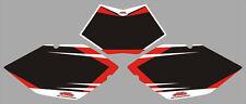 Adesivi Tabelle Honda Beta 50 2010 - crystal/adesivi/adhesives/stickers/decal