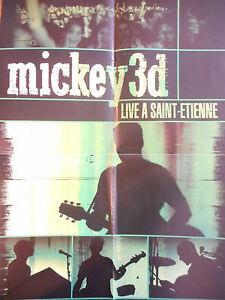▓ POSTER PROMO ▓ MICKEY 3D : LIVE A SAINTE ETIENNE